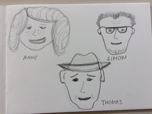 3 Personen